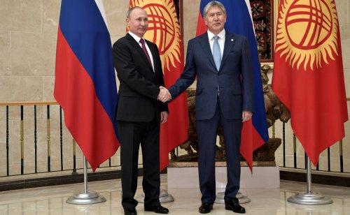 Алмазбек Атамбаев: Здорово, что Киргизия находится всоставе Евразийского финансового союза