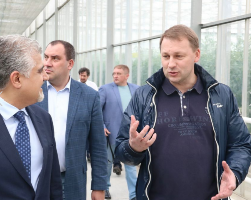 Азербайджанский инвестор построит 100 гатеплиц наСтаврополье