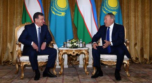 Назарбаев иМирзиёев обсудили товарооборот