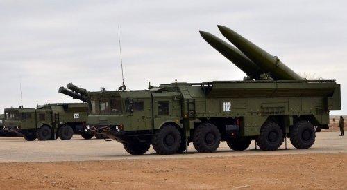 Расчеты «Искандеров» впервый раз уничтожили скопление «боевиков» научениях вТаджикистане